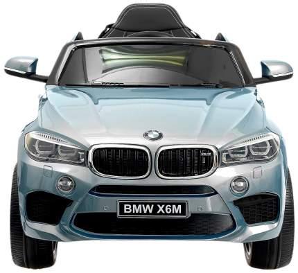 """Электромобиль """"BMW X6M"""", окраска глянец серебро, EVA колеса, кожаное сидение Sima-Land"""