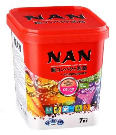 Концентрированный стиральный порошок Nan Kaori bio для цветного и белого белья 0.7 кг