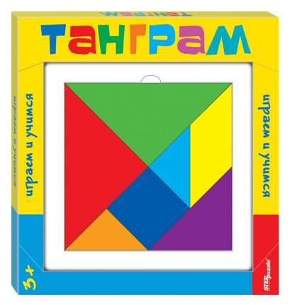 Развивающая игра из дерева Step Puzzle Танграм
