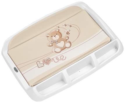 Матрас Brevi для пеленания с пластиковой основой Tablet 006 553 LITTLE BEAR