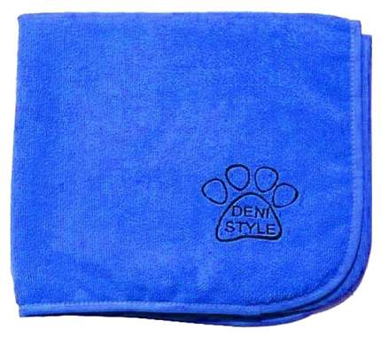 Полотенце для животных DENI STYLE, микрофибра, голубое, 70 х 140 см