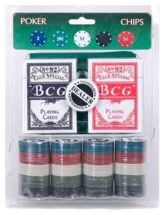 Набор фишек для покера, 19x24,5 см