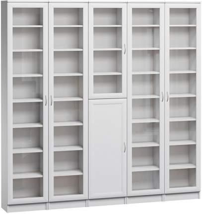 Шкаф книжный Divan.ru Цезарь-3 40х200х200, белый