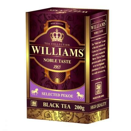 Чай Williams Noble Taste черный 200 г