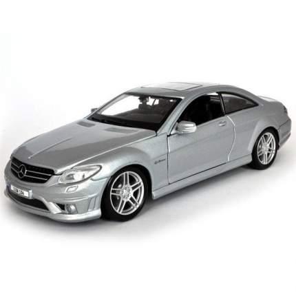 Машинка Maisto 1:24 Mercedes-Benz SLS AMG Roadster, белая