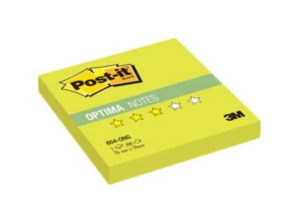 Блок самоклеящийся Post-it Optima 654-ONG Салатовый 100 шт