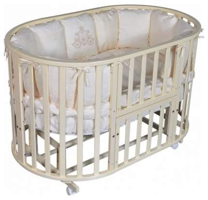 Кровать детская Антел северянка (3.1) 6 в 1 колесо