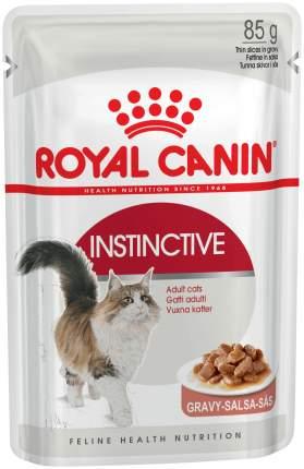 Влажный корм для кошек ROYAL CANIN Instinctive, мясо, 24шт по 85г