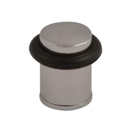 Ограничитель двери НОРА-М 105 напольный, матовый никель