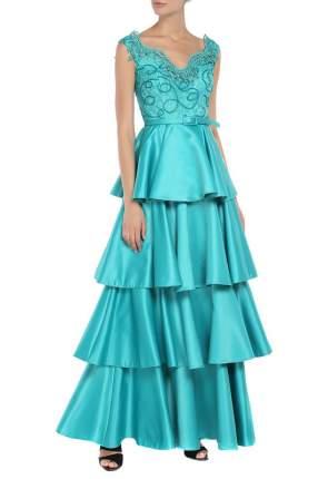 Платье женское Kei Kei 963104 зеленое 38 IT