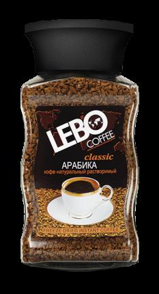 Кофе растворимый Lebo classic 100 г