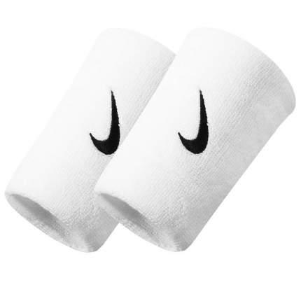 Напульсники Nike Swoosh Doublewide Wristbands white
