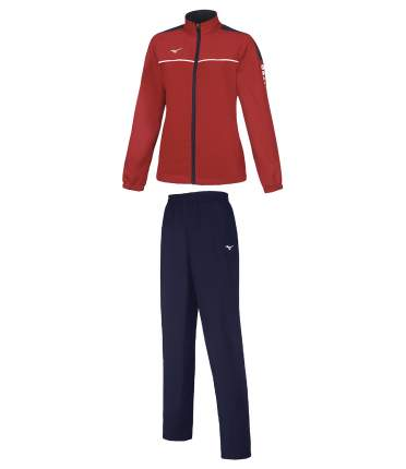 Спортивный костюм Mizuno Micro, red navy, M INT