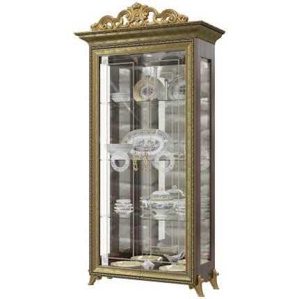 Платяной шкаф Мэри-Мебель Версаль ГВ-02К 1073095 107х48х216, орех тайский