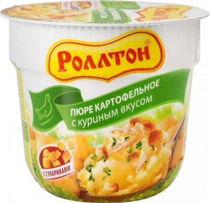 Пюре картофельное Роллтон с куриным вкусом 40 г
