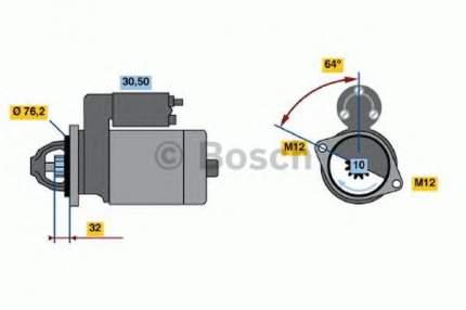 Стартер Bosch 0986018020