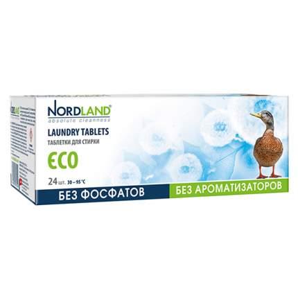 Таблетки для стирки Nordland eco 24 штук*33.75 г