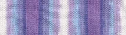 Пряжа для вязания Alize Sekerim Batik 5 шт. по 100 г 350 м цвет 3483 секционная