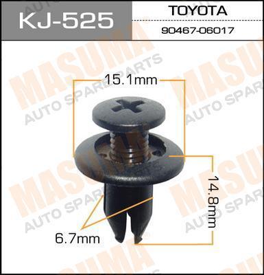 Клипса автомобильная Masuma KJ525