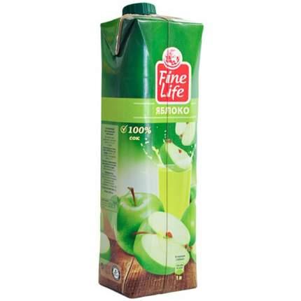 Сок Fine Life яблоко восстановленный осветленный 1 л