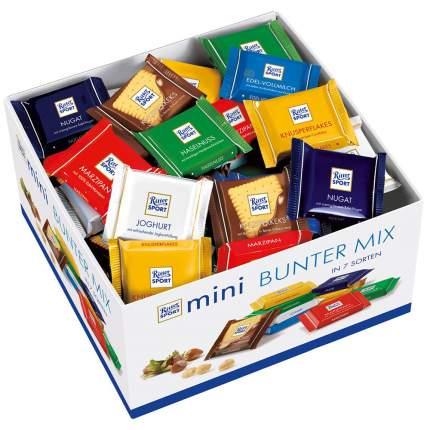 Набор мини-шоколада Ritter Sport bunter mix 1400 г