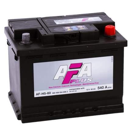 Аккумулятор автомобильный Afa AF-H5-60