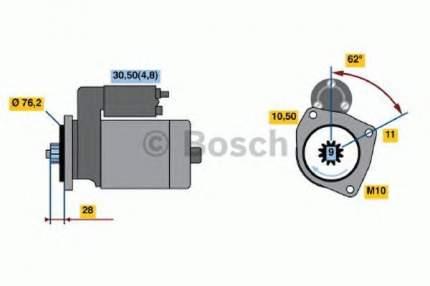 Стартер Bosch 0001125609