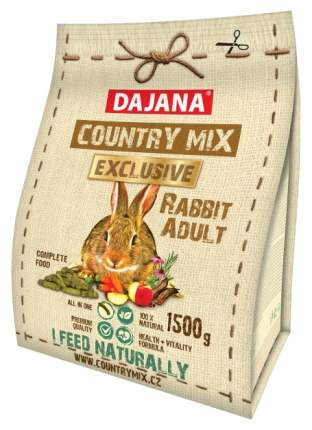 Корм для кроликов Dajana EXCLUSIVE 1.5 кг 1 шт