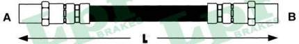 Шланг тормозной Lpr 6T46897