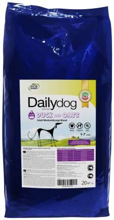 Сухой корм для собак Dailydog Adult Medium-Large Breed, утка и овес, 20кг