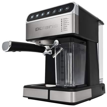 Рожковая кофеварка Polaris PCM 1535E Adore Cappuccino Black