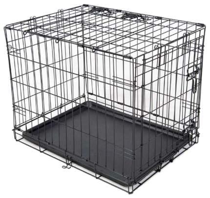 Переноска-клетка Savic Dog Cottage для животных (Д 50 х Ш 30 х В 36,5 см, чёрный)