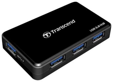 Разветвитель для компьютера Transcend TS-HUB3K USB 3.0 4 порта черный