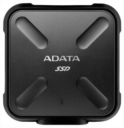 Внешний SSD накопитель ADATA SD700 256GB Black (ASD700-256GU3-CBK)