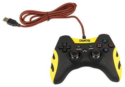 Геймпад Dialog GP-A21 Черный, желтый