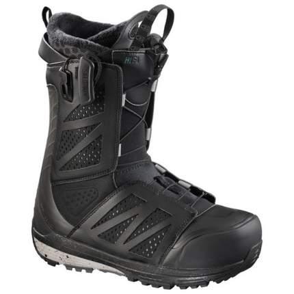 Ботинки для сноуборда Salomon Hi-Fi 2018, black, 27.5