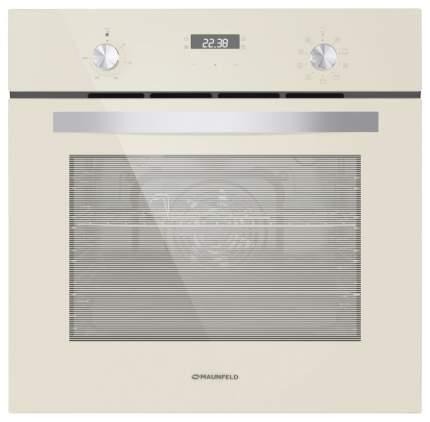 Встраиваемый электрический духовой шкаф MAUNFELD EOEM.589BG Beige