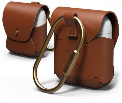 Чехол Elago Genuine Cow Leather Case (EAPLE-BR) для AirPods (Brown)