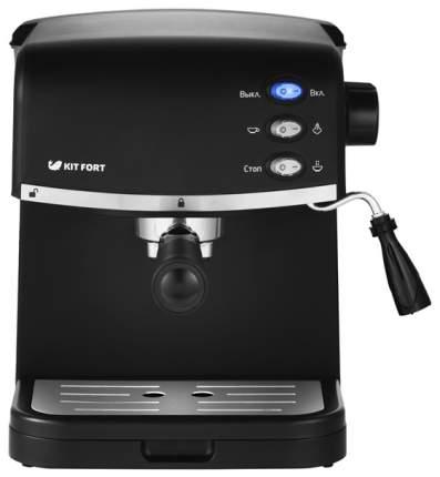 Рожковая кофеварка Kitfort KT-718 Black