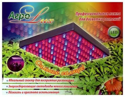 Светодиодная фитолампа (панель) для досветки растений AgroLux 14 Вт