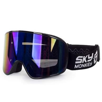 Горнолыжная маска Sky Monkey SR44 RV 2019 Black