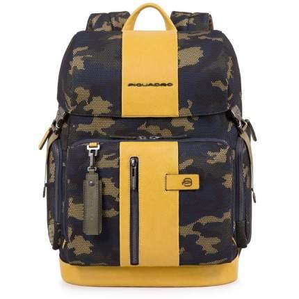 Рюкзак кожаный Piquadro CA4534BR/CAMOG желтый