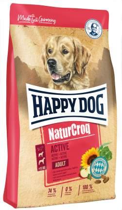 Сухой корм для собак Happy Dog NatureCroq Active Adult, для активных, мясо, 15кг