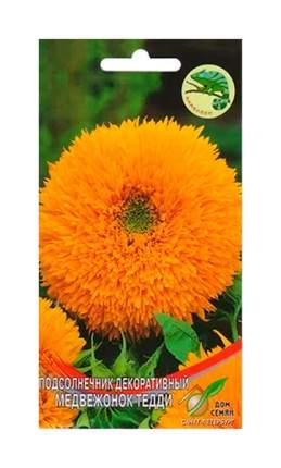 Семена Подсолнечник Медвежонок Тедди, 13 шт, Дом семян
