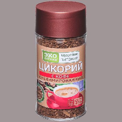 Цикорий Экологика с кофе растворимый сублимированный 85 г
