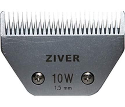 Сменный нож для машинок с посадочным слотом А5, сталь, широкий №10W, 1,5 мм, Ziver