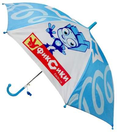 Детский зонтик Играем Вместе Фиксики прозрачный со свистком 45 см