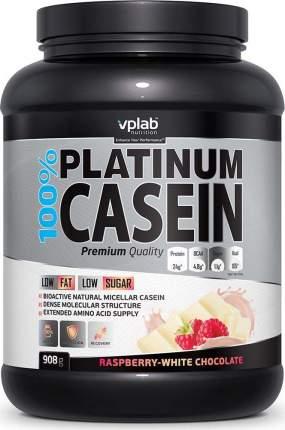 Протеин VPLab 100% Platinum Casein 908 г Raspberry-White Chocolate