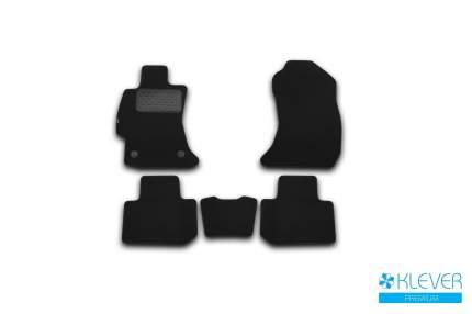 Коврики в салон Klever Premium для SUBARU Forester 2013-2018, 5 шт. текстиль