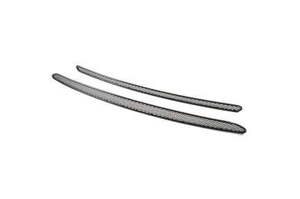Сетка на бампер внешняя arbori для Kia Sportage 2010-2019-1016, 2 шт., черная, 15 мм